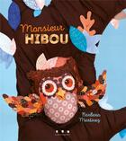 Couverture du livre « Monsieur hibou » de Barbara Martinez aux éditions Points De Suspension