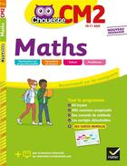 Couverture du livre « Maths cm2 » de Claude Marechal aux éditions Hatier