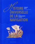 Couverture du livre « Histoire universelle de la navigation t.1 ; les découvreurs d'étoiles » de Francois Bellec aux éditions De Monza Jean-pierre