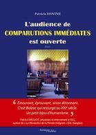 Couverture du livre « L'audience de comparutions immédiates est ouverte. » de Patricia Hovine aux éditions Melibee