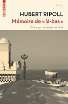 Couverture du livre « Mémoire de