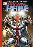 Couverture du livre « Battle pape » de Tony Moore et Robert Kirkman aux éditions Stara