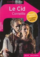Couverture du livre « Le Cid » de Pierre Corneille et Adeline Mace aux éditions Belin Education