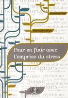 Couverture du livre « Psychogénéalogie : pour en finir avec les problêmes de stress » de Picazo aux éditions Chiron