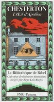 Couverture du livre « L'oeil d'Apollon » de Gilbert Keith Chesterton aux éditions Panama