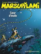 Couverture du livre « Marsupilami T.27 ; coeur d'étoile » de Batem et Stephane Colman et Andre Franquin aux éditions Dupuis