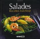 Couverture du livre « Salades ; recettes fraîcheur » de Sylvie Ait-Ali aux éditions Editions Esi