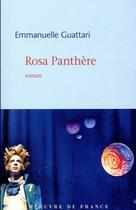 Couverture du livre « Rosa Panthère » de Emmanuelle Guattari aux éditions Mercure De France