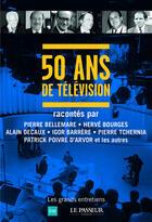 Couverture du livre « Télé notre histoire » de Collectif aux éditions Le Passeur