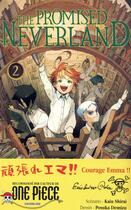 Couverture du livre « The promised Neverland T.2 » de Kaiu Shirai et Posuka Demizu aux éditions Kaze