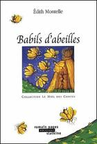 Couverture du livre « Babils d'abeilles » de Edith Montelle aux éditions Slatkine