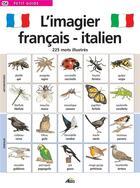 Couverture du livre « L'imagier français/italien » de Collectif aux éditions Aedis