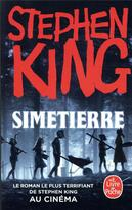Couverture du livre « Simetierre » de Stephen King aux éditions Lgf