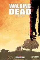 Couverture du livre « Walking dead T.33 ; épilogue » de Charlie Adlard et Robert Kirkman et Cliff Rathburn aux éditions Delcourt