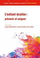 Couverture du livre « L'enfant ecolier » de Jacques Angelergues aux éditions In Press