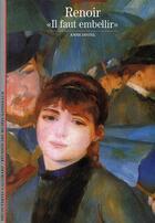 Couverture du livre « Renoir ;