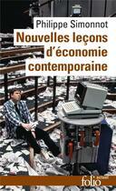 Couverture du livre « Nouvelles leçons d'économie contemporaine » de Philippe Simonnot aux éditions Gallimard