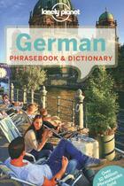 Couverture du livre « German phrasebook & dictionary (6e édition) » de Collectif aux éditions Lonely Planet France