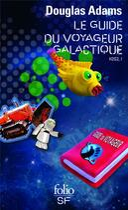 Couverture du livre « H2G2 t.1 ; le guide du voyageur galactique » de Douglas Adams aux éditions Gallimard