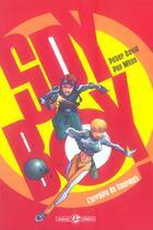 Couverture du livre « Spyboy t.1 ; l'affaire du gourmet » de Peter David et Pop Mahn aux éditions Bamboo