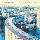 Couverture du livre « Les rumeurs de Babel » de Yvon Le Men aux éditions Editions Dialogues