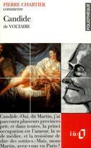 Couverture du livre « Candide De Voltaire (Essai Et Dossier) » de Pierre Chartier aux éditions Gallimard