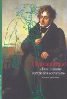 Couverture du livre « Chateaubriand » de Jean-Paul Clement aux éditions Gallimard