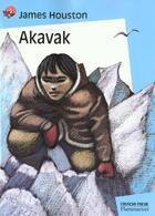 Couverture du livre « Akavak » de James Houston aux éditions Pere Castor