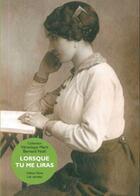Couverture du livre « Lorsque tu me liras » de Marit Veronique aux éditions Yellow Now