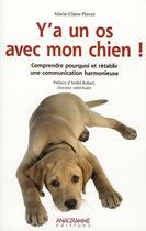 Couverture du livre « Y a un os avec mon chien » de Marie-Claire Perrot aux éditions Anagramme