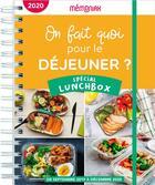 Couverture du livre « Mémoniak ; on fait quoi pour le déjeuner ? spécial lunchbox (édition 2020/2021) » de Frederic Berque aux éditions Editions 365