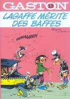 Couverture du livre « Gaston lagaffe t.13 ; Lagaffe mérite des baffes » de Franquin aux éditions Dupuis