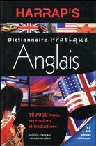Couverture du livre « Harrap's dictionnaire pratique anglais » de Collectif aux éditions Harrap's