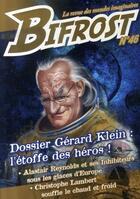 Couverture du livre « Dossier Gérard Klein : l'étoffe des héros » de Collectif aux éditions Le Belial