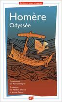 Couverture du livre « L'odyssée (édition 2017/2018) » de Homere aux éditions Flammarion