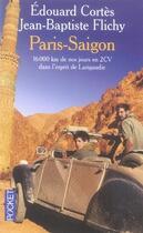 Couverture du livre « Paris-saïgon » de Edouard Cortes aux éditions Pocket