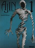 Couverture du livre « Ajin t.1 » de Tsuina Miura et Gamon Sakurai aux éditions Glenat