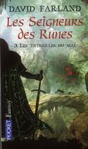 Couverture du livre « Les seigneurs des runes t.3 ; les entrailles du mal » de David Farland aux éditions Pocket