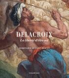 Couverture du livre « Delacroix ; apaisement coloré et sauvagerie » de Dominique De Font-Reaulx aux éditions Cohen Et Cohen