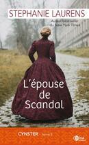 Couverture du livre « Cynster T.3 ; l'épouse de Scandal » de Stephanie Laurens aux éditions Diva