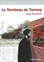 Couverture du livre « Le tombeau de Tommy » de Alain Blottiere aux éditions Flammarion