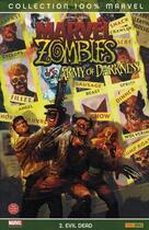Couverture du livre « Marvel zombies t.2 ; evil dead » de John Layman et Fabiano Neves aux éditions Panini