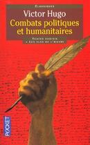 Couverture du livre « Combats politiques et humanitaires » de Victor Hugo aux éditions Pocket
