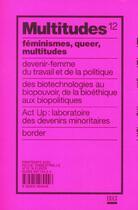 Couverture du livre « Revue Multitudes N 12 » de Collectif aux éditions Exils