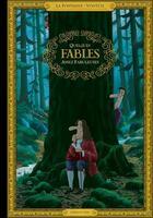 Couverture du livre « Quelques fables assez fabuleuses » de Jean De La Fontaine et Voutch aux éditions Cherche Midi