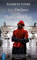 Couverture du livre « Les ombres de Rutherford park » de Elizabeth Cooke aux éditions City