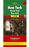 Couverture du livre « New York » de  aux éditions Freytag Und Berndt