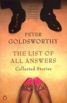 Couverture du livre « The List of all Answers » de Goldsworthy Peter aux éditions Penguin Books Ltd Digital