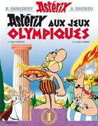 Couverture du livre « Astérix t.12 ; les jeux olympiques » de Rene Goscinny et Albert Uderzo aux éditions Hachette