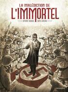 Couverture du livre « La malédiction de l'immortel » de Antonio Taboada et Dante Ginevra aux éditions Sarbacane
